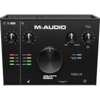 M-Audio AIR 192 4 - Interface Audio USB / USB-C, Carte Son avec 2 Entrées et Sorties avec Logiciels de Studio: Pro-Tools First, Ableton Live Lite, Eleven Lite, Avid Effects Collection et FX et