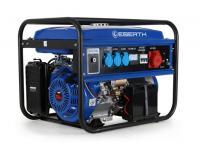 Acheter EBERTH 5500 Watt Générateur électrique (Triphasé, 13 CV Moteur à essence 4 temps, 1x 400V, 3x 230V, 1x 12V, Régulateur de tension automatique AVR, Alarme au meilleur prix