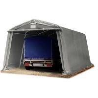 Acheter TOOLPORT Abri/Tente Garage Premium 3,3 x 4,8 m pour Voiture et Bateau - Toile PVC env. 500 g/m² imperméable Gris au meilleur prix