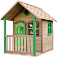 Comparateur de prix Alex Playhouse: Maisonnette pour enfants, fenêtres intégrées et bois très résistant - AXI