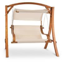 Comparateur de prix Blumfeldt - Maui Balancelle110 cm 2 places voile d ombrage Polyester Mélèze
