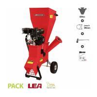 Acheter Broyeur de végétaux coupe 89mm moteur thermique 420cc 13 cv LEA LE56420-89  au meilleur prix