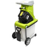 Comparateur de prix Broyeur végétaux électrique 2500W Déchiqueteur Jardin Branche Coupe 40mm Bac ramassage Mobile