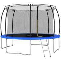Comparateur de prix vidaXL Ensemble de trampoline rond 366x80 cm 150 kg