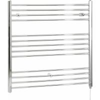 Acheter Hudson Reed Kent - Sèche-Serviettes Design Électrique Moderne Plat - Chromé - 100 cm x 100 cm au meilleur prix
