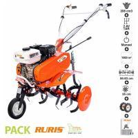 Acheter Motoculteur motobineuse 6,5 Cv 6 fraises vitesses 2 AV -1 AR roues agraires 400x8 Ruris DAC 6500K  au meilleur prix