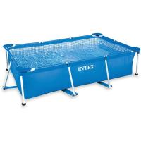 Comparateur de prix INTEX Piscine rectangulaire tubulaire - 220 x 150 x 60 cm