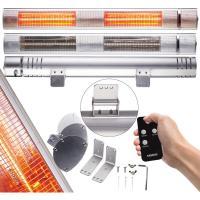 Comparateur de prix Radiateur de Chaleur Infrarouge Émetteurs Infrarouges 3000W Argent - Argent - Arebos