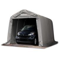 Comparateur de prix Tente-garage carport 2,4 x 3,6 m d'élevage abri agricole tente de stockage bâche env. 550g/m² armature solide gris