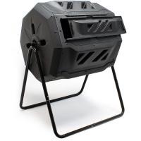 Acheter Wiltec - Tonneau de compostage Composteur à tambour Capacité 160 litres Rotatif Compost décomposition  au meilleur prix