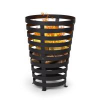 Comparateur de prix Verus Braséro de jardin support stable en acier - noir