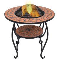 Comparateur de prix Table de foyer mosaïque Terre cuite 68 cm Céramique