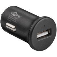 Acheter Goobay Chargeur rapide USB 2.4A sur prise allume-cigare (noir)  au meilleur prix