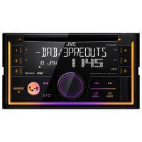 Acheter JVC Autoradio 2DIN Bluetooth DAB+ KW-DB93BT  au meilleur prix