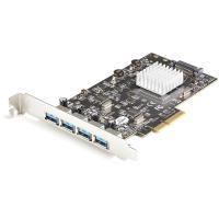 Comparateur de prix StarTech.com Carte PCIe 4 Ports USB 3.2 Gen 2 10Gbps - Carte Contrôleur Hôte USB 3.1/3.2 Gen 2 Type-A PCI Express 3.0 x 2 - 4xUSB-A - Carte Adaptateur PCIe USB - Windows/Mac/Linux