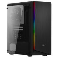 Acheter AEROCOOL - Rift Noir BG (RGB) avec verre trempé - Boitier PC sans alimentation - Moyen tour Format ATX - ACCM-PV13013.11  au meilleur prix