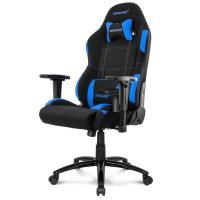 Acheter AKRACING Series Core EX-WIDE - AKEXWIBKBL - Siège Confort pour Gamer en tissu - Noir/Bleu  au meilleur prix