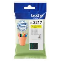 Acheter BROTHER Cartouche LC-3217Y - Jaune  au meilleur prix
