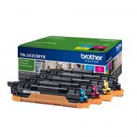 Comparateur de prix BROTHER Pack 4 toners - Consommables originaux (TN-243CMYK)