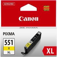 Acheter Canon CLI-551XL Cartouche d'encre Jaune  au meilleur prix