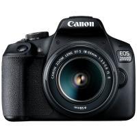 Comparateur de prix Reflex Canon EOS 2000D Noir + Objectif EF-S 18-55 mm f/3.5-5.6 IS II