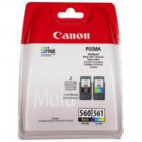 Acheter Canon Pack 2 Cartouches encre PG-560/CL-561 - Noir + Couleur  au meilleur prix