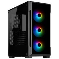 Acheter CORSAIR Boitier PC iCUE 220T RGB - Moyen-Tour - Verre trempé -Noir (CC-9011190-WW)  au meilleur prix