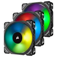 Comparateur de prix Corsair ML120 PRO RGB, 120mm Haute Pression à Faible son Premium Ventilateur à Lévitation Magnétique, Lot de 3 Ventilateurs, avec Lighting Node PRO