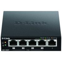 D-LINK Switch de bureau DGS-1005P - Gigabit PoE+ 5 ports - Noir