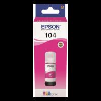 EPSON Kit de Remplissage d'Encre Epson EcoTank 104 - Magenta - Jet d'encre - 7500 Pages - 1 Unit(s)