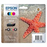 Acheter EPSON Cartouche d'encre Multipack 4 couleurs 603 Ink - Noir, Cyan, Magenta, Jaune  au meilleur prix