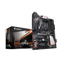 GIGABYTE Carte Mère Aorus Ultra Durable B450 AORUS PRO - AMD Chipset - Socket AM4 - 64 Go DDR4 SDRAM RAM maximale