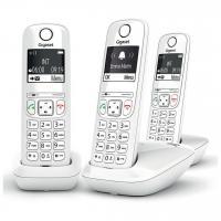 Acheter GIGASET Téléphone Fixe AS690 Trio Blanc  au meilleur prix