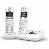 Acheter GIGASET Téléphone Fixe AS690 A Duo Blanc  au meilleur prix