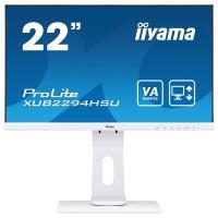 Acheter IIYAMA Moniteur LCD ProLite XUB2294HSU-W1 54,6 cm (21,5-) Full HD LED - 16:9 - Blanc Mat - Vertical Alignment (VA)  au meilleur prix