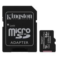 Acheter KINGSTON Canvas Select Plus SDCS2 64Go 64 go Micro SD Carte Mémoire Class 10 A1 100Mo/s+ Adaptateur inclus  au meilleur prix