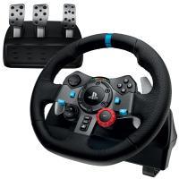 Pack Volant et Pédales Logitech G29 Driving Force pour PC/PS3/PS4 Noir