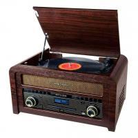 Acheter Micro-système CD Muse MT-115 Vintage Collection Bois avec Platine vinyle DAB+ au meilleur prix