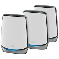 NETGEAR Système WiFi Mesh Tri-Bandes WiFi 6 Orbi (RBK853), AX6000, pack de 3, un WiFi partout dans la maison, Vitesse Jusqu'à 6 Gbit/s, Couvre Jusqu'à 525m² et