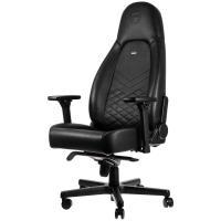 Acheter noblechairs Icon Chaise de Gaming - Chaise de Bureau - Cuir Synthétique PU - Noir au meilleur prix