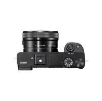 Acheter Sony ILCE6000LB Appareil Photo Numérique Hybride Capteur APSC 24,3 Mpix Autofocus ultrarapide + objectif 1650 mm rétractable noir au meilleur prix