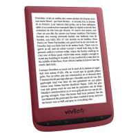 Acheter Vivlio Touch Lux 5 Rouge + Pack d'eBooks OFFERT  au meilleur prix