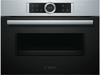 Comparateur de prix Bosch 800 Series CFA634GS1 - four micro-ondes monofonction - intégrable - inox