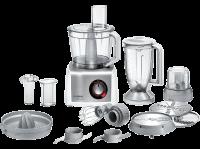 Acheter Robot compact Bosch MC812S844 1250 watts Blanc et inox brossé au meilleur prix