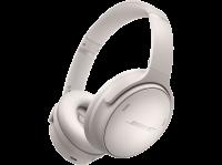 Casque audio à réduction de bruit sans fil Bluetooth Bose QuietComfort 45 Blanc
