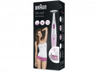 Acheter Tondeuse bikini 3 en 1 Braun Silk-épil FG1100 Rose au meilleur prix
