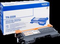 Acheter Brother TN-2220 Toner Laser Noir (2600 pages) x1  au meilleur prix
