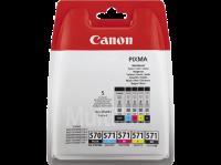 Acheter Canon Pack de 4 Cartouches PGI-570/CLI-571 PGBK/BK/C/M/Y - Noir + Couleur  au meilleur prix