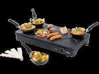 Acheter set mini woks, crêpière et gril 1000w noir - do8712w au meilleur prix