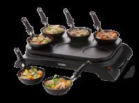 Acheter DOMO DO8710W - Crêpière/wok électrique - 1000 Watt au meilleur prix